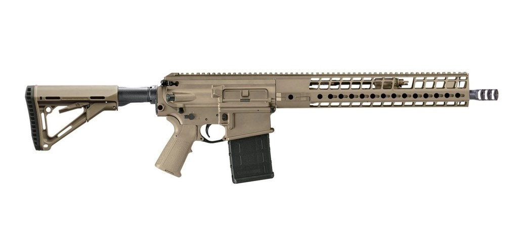 Buy the Sig Sauer Sig716G2 Designated Marksman Rifle. It's an AR-15 style rifle in 6.5 Creedmoor. Yes, that's intense.