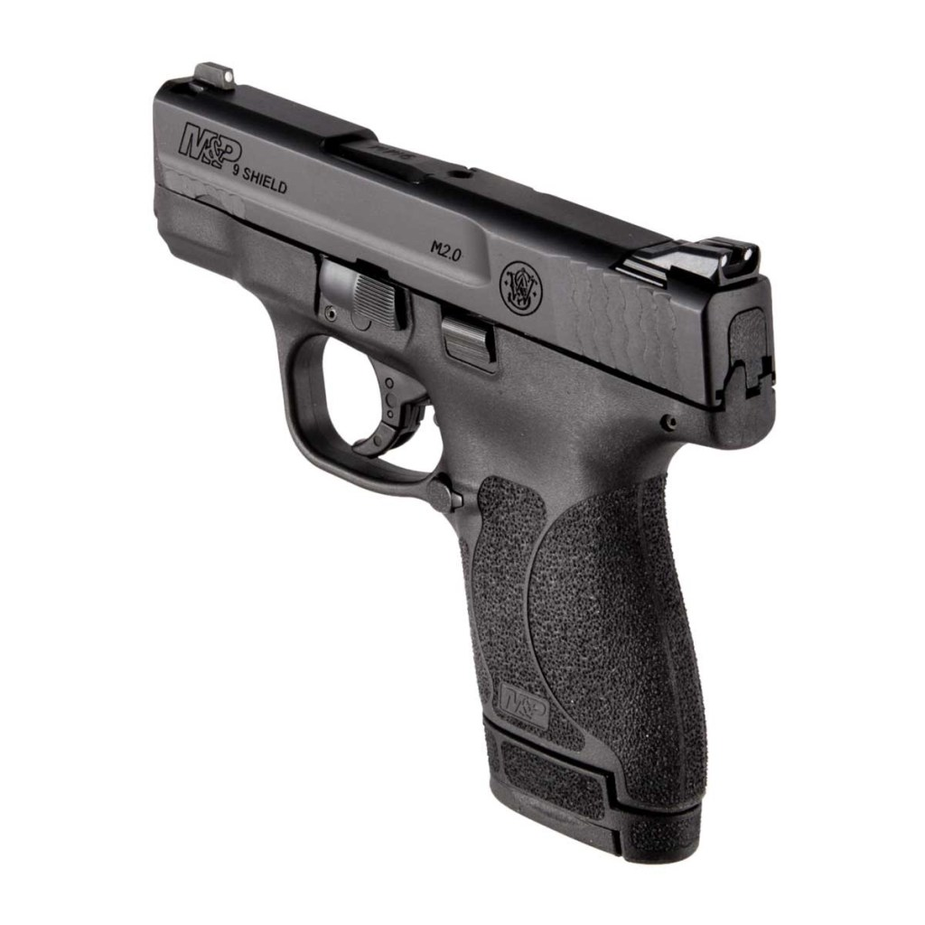 Smith & Wesson M&P9 Shield 2.0 for sale, just $249.99! One of the best concealed carry 9mm guns on sale right now.