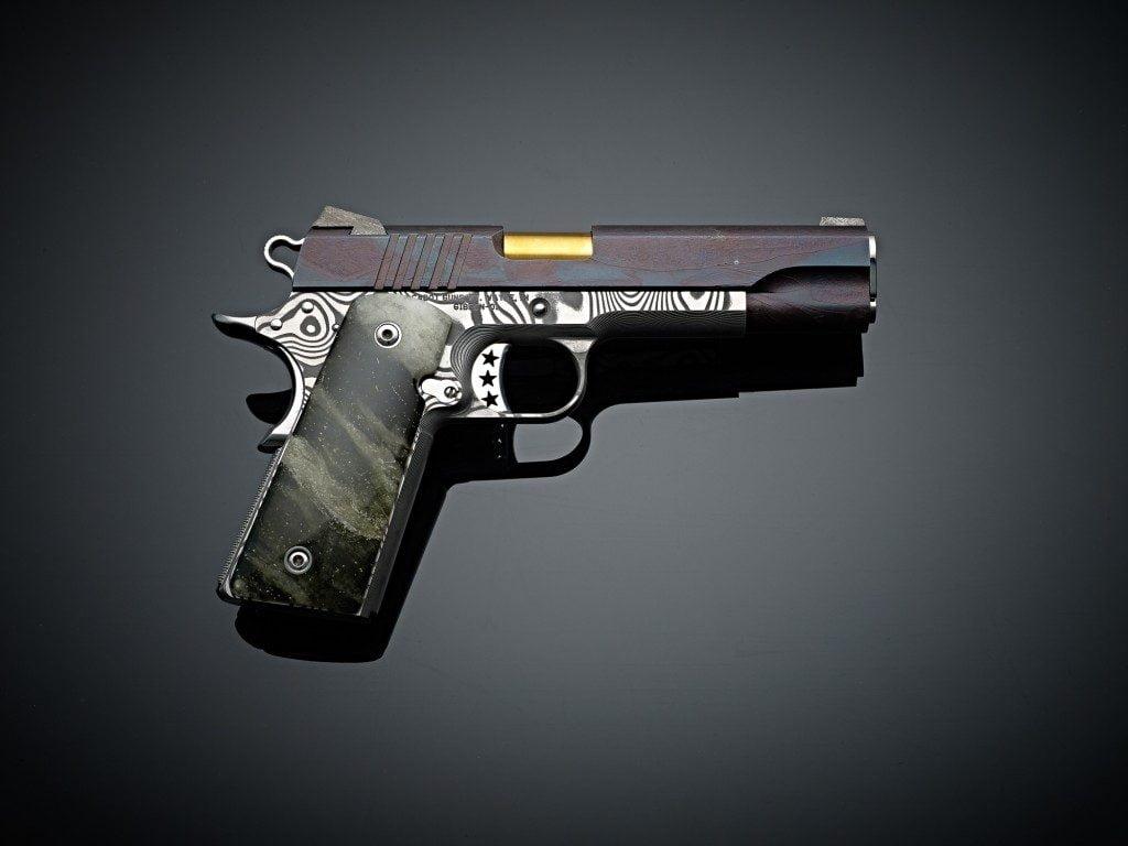 Cabot Stella Fusion Custom Handgun. The most expensive gun for sale at $3 million.