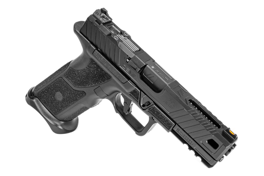 ZEV Tech OZ9 - A ground up rebuild of the GLock 19 with a metal frame and all of ZEV Tech's custom Glock knowledge and Glock parts & accessories experience.