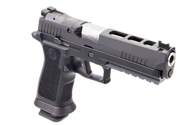 Sig Sauer X-FIVE just $729.99 - A tuned Sig Sauer P320 Full Size 9mm pistol from the in house experts at Sig.
