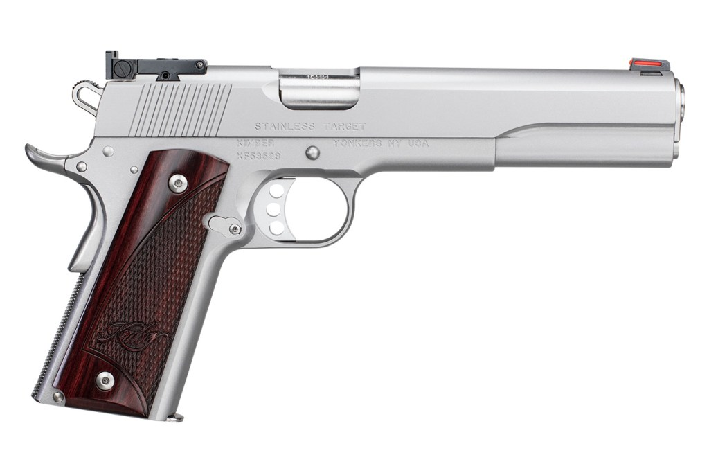 Kimber Target Long Slide - A semi automatic hunting handgun and a match grade pistol for sale.