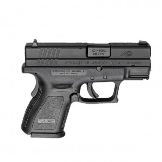 Springfield XD Service Sub C0mpact is a cheap 9mm handgun for sale