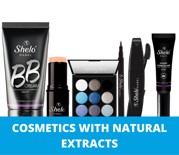 COSMETICS WITH NATURAL EXTRACTS