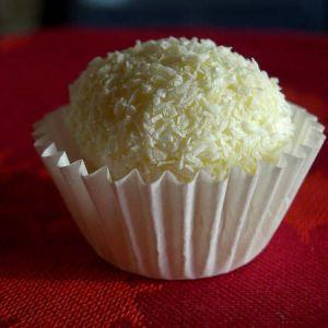 Ejercicio de Reducción de Ingredientes y Porciones de Trufas de Coco y Chocolate Blanco