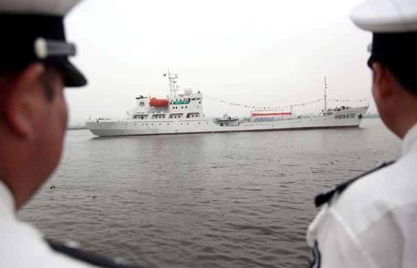 New ship patrols South China Sea