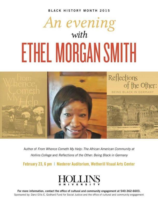 An evening with Ethel Morgan Smith