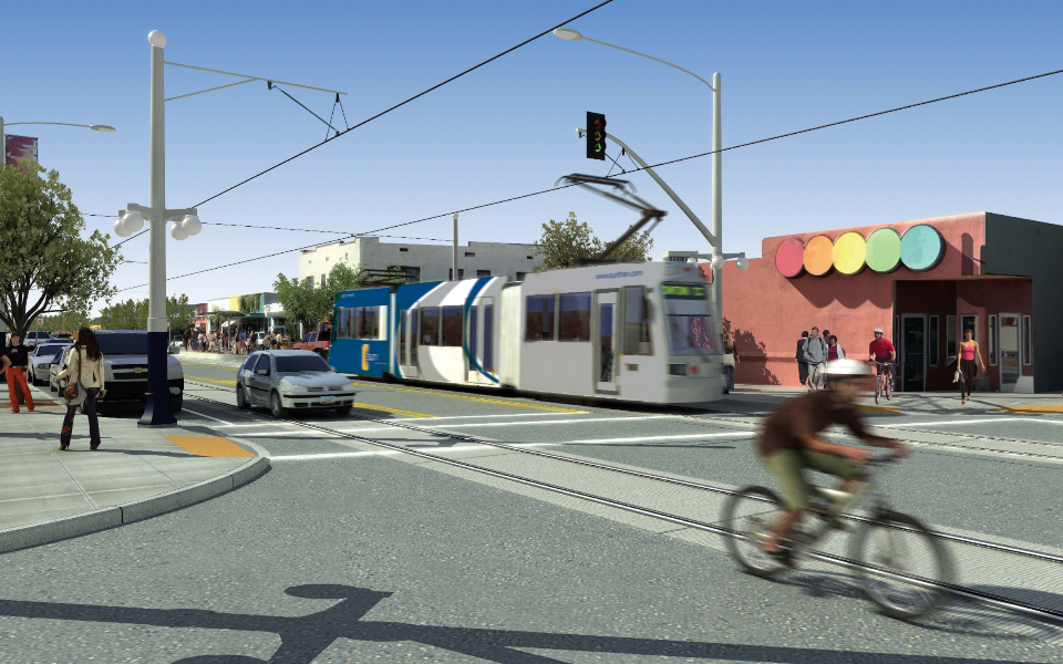 The Tucson Modern Streetcar project was awarded $63 million in the first round of TIGER funding. (Image: Tucson Regional Transit Authority)