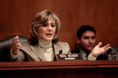 "EPW Committee Chair Barbara Boxer says ""not so fast"" on that infrastructure bank."