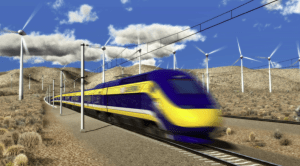 California high speed rail could be especially at risk if Republicans rescind stimulus funds. Image: ##http://www.cahighspeedrail.ca.gov/gallery_statewide_01.aspx##CA High Speed Rail Authority#