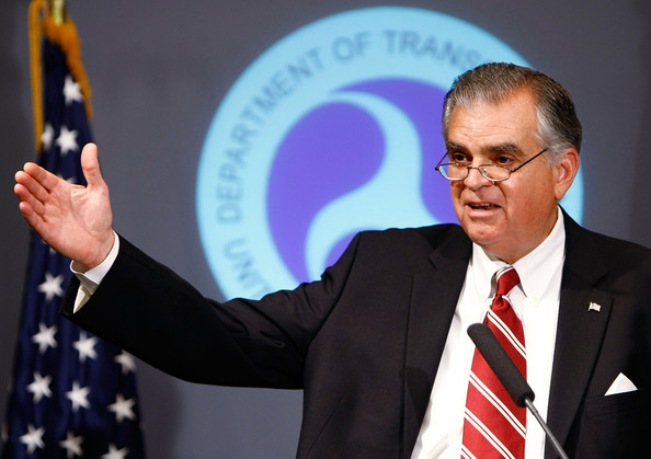 DOT Chief Ray LaHood is pushing Florida to pursue plans to build high speed rail. Photo: ##http://www.zimbio.com/pictures/IrngVhdWJgh/Trans+Secretary+Ray+LaHood+Discusses+Cash##Getty Images##