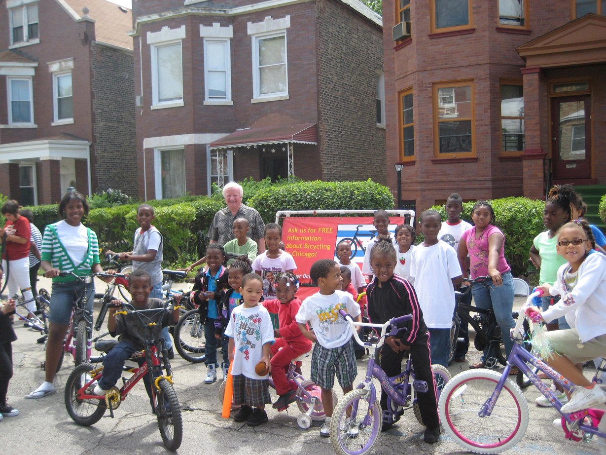 Chicago's Active Transportation Alliance serves as a model of how to integrate communities of color into livability programming. Photo courtesy of ##activetrans.org##Active Transportation Alliance##