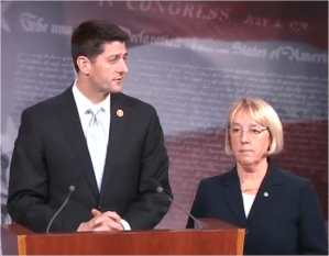 Rep. Paul Ryan and Sen. Patty Murray have reached a budget deal the House is expected to pass today.