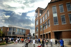 Uptown Normal came to life with the help of a $22 million TIGER grant, but the town would never be able to access funds dedicated to projects over $350 million. Photo: ##http://www.pantagraph.com/gallery/news/local/photos-uptown-station/collection_7cc26780-cdff-11e1-8544-001a4bcf887a.html#5##Pantagraph##