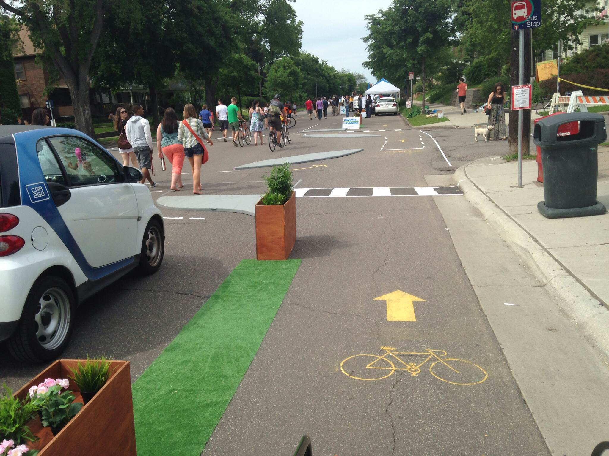 How One-Day Plazas and Bike Lanes Can Change a City Forever ...