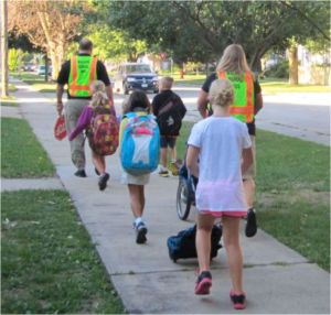 Six counties in Northeast Iowa benefit from an unprecedented push for Safe Routes to School. Image: ##http://uerpc.org/uploads/PDF_File_64511658.pdf##UERPC##
