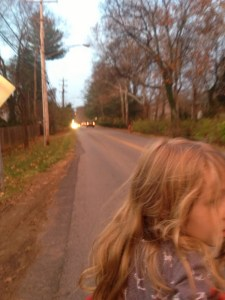 Walking with children on Nashville's sidewalk-less roads is terrifying, says Stacy Dorris, a physician and mother. Image: Stacy Dorris