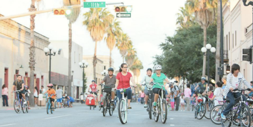 Brownsville, Texas' open streets events CycloBia has been a huge success. Photo: CycloBia Brownsville