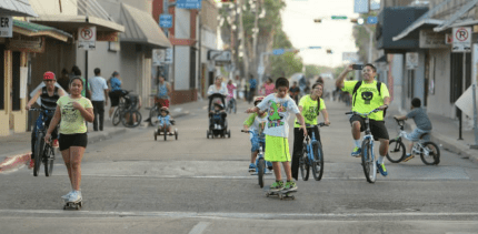 """People inherently want to be active. But there's always an excuse,"" says Brownsville's Planning Director Ramiro Gonzalez. Photo: CycloBia Brownsville"
