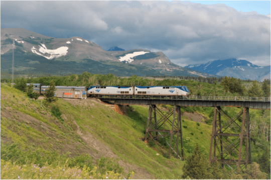 Amtrak's Empire Builder line arrives on time just 21 percent of the time -- thanks, in part, to a court ruling removing Amtrak's ability to keep host railroads from causing delays. Photo: ##https://www.flickr.com/photos/locosteve/6005473616/in/photostream/##Loco Steve/flickr##