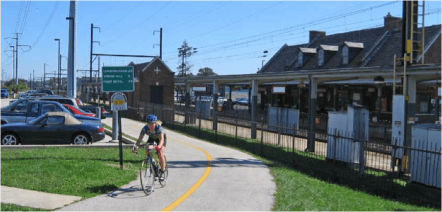 Why It Makes Sense To Add Biking And Walking Routes Along Active Rail Lines Streetsblog Usa