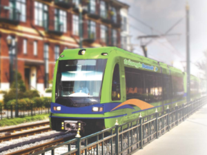 The Research Triangle's 20-year dream of linking its major cities via light rail got a shot in the arm Tuesday. Image: Triangle Transit