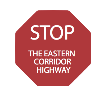 An image used by the village of Newton to oppose the Ohio Department of Transportation's $1.4 billion Eastern Corridor highway plan. Image: Village of Newton