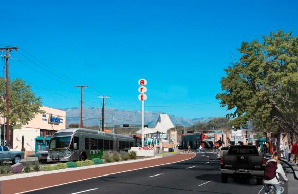 Albuquerque has a plan for bus rapid transit. But is it getting a fair hearing? Photo: City of Albuquerque