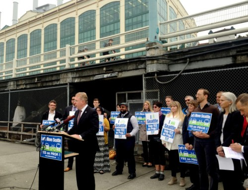 Ed Murray's Move Seattle plan got a $900 million nod from voters yesterday. Photo: Seattle Bike Blog