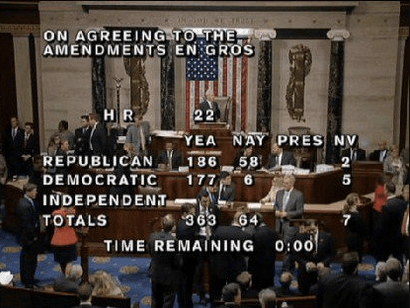 Congress passed a 6-year transportation bill this morning. Yay? Image: Transportation Dems