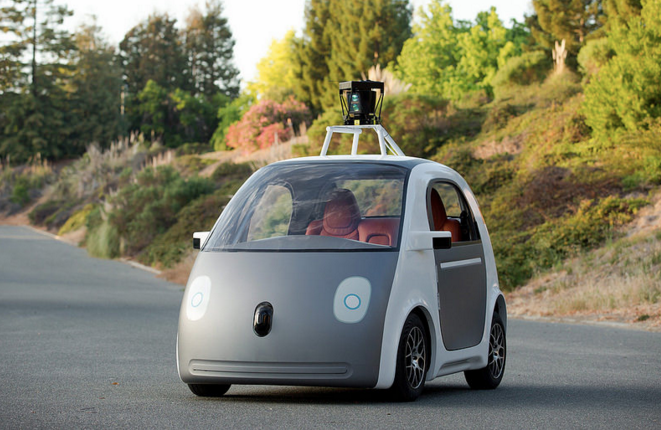 How long before we start seeing self-driving cars in cities? What kind of change will they bring? Photo: Smoothgroover/Flickr