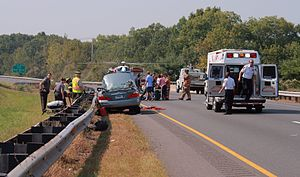 More driving, more problems. Photo: Wikipedia