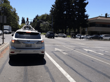 How will self-driving cars impact cities? Hopefully federal regulators won't ignore this question. Photo: Wikipedia