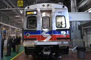 Hyundai's Silverliner V train cars debuted in 2010. Photo: Plan Philly