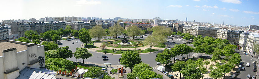 Paris' Plaza de Nation will be redesigned to emphasize pedestrian space. Photo: Wikipedia