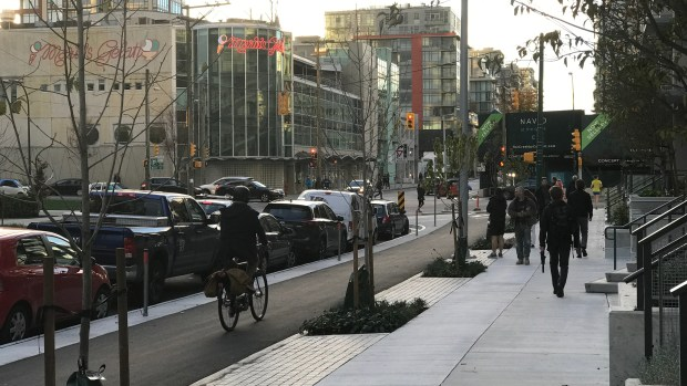 Vancouver Builds a Better Bike Lane
