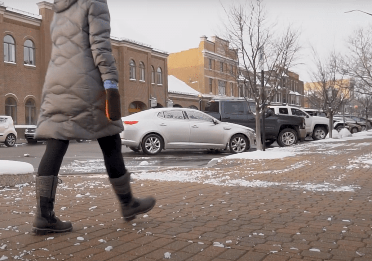 photo of Holland Shows How to Put Pedestrians First in Winter image