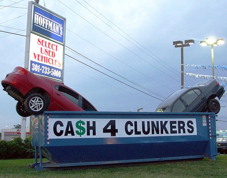 Cash For Clunkers >> Report Cash For Clunkers Was A Lemon Streetsblog Usa