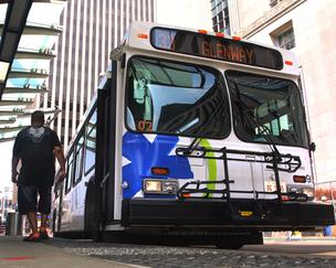 Cincinnati's regional transit agency, SORTA, agreed to assume the costs of operating the Cincinnati Streetcar. Image: ##http://www.bizjournals.com/cincinnati/news/2013/02/13/sorta-lands-25m-grant-for-new-buses.html## Cincinnati Business Journal##