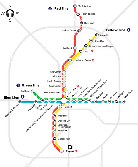 MARTA Expansion Could Help Reverse Atlantas Legacy of Racial