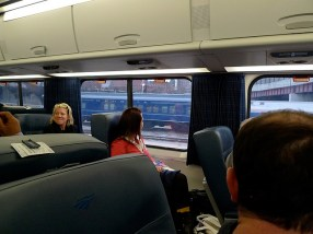 "Amtrak's Acela rail line is profitable, despite averaging ""only"" 3.4 million passengers per year. Photo: Flicker, Sanfranannie"