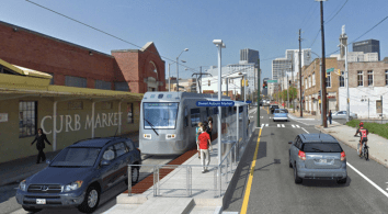 Atlanta's 2.7-mile streetcar system is expected to start doing test runs in November. Image: Atlanta Streetcar