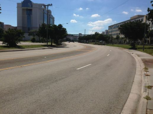 Quadrille Boulevard in West Palm Beach. Photo: Walkable WPB
