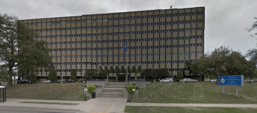 Te Wisconsin DOT's current headquarters. The state is going to spend $200 million for a new building but it supposedly can't afford bike lanes. Photo: Google Maps