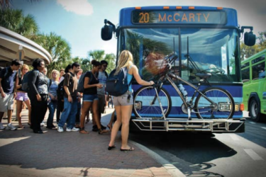 Millennials, causing crashes by riding the bus! Photo: US PIRG