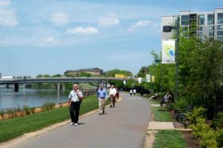 TIGER funding will help fill gaps in Philadelphia's Schuylkill River Trail. Photo: Schuylkill Banks