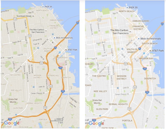 How the New Google Maps May Change the Way You See the City ...