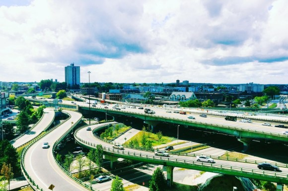 Providence residents have been pushing for the replacement of the 6/10 Connector -- and elevated urban highway -- with a multi-modal at-grade boulevard. But Governor Gina Raimondo is taking extraordinary measures to squash the whole conversation. Photo: Moving Together PVD