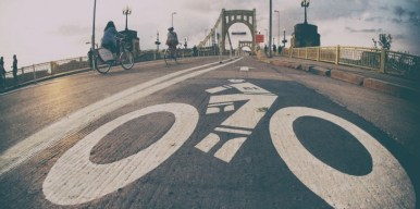 "The ""City of Bridges"" is becoming a better place for cyclists. Photo: Mobility Lab"