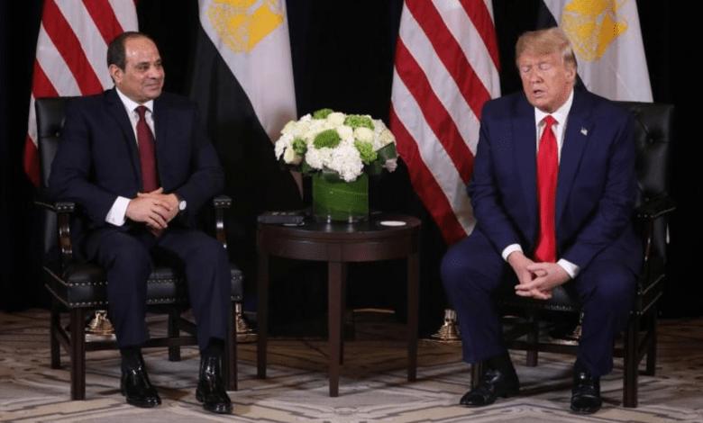 "Photo of ترامب يدعم السيسي في مواجهة الاحتجاجات في مصر ويأمل أن ""تتلاقى"" الهند وباكستان بشأن كشمير"